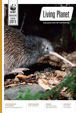 September edition of Living Planet, magazine for WWF-New Zealand supporters