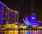 La Hora del Planeta en Marina Bay, Singapur