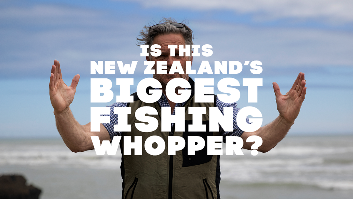 Is this New Zealand's biggest fishing whopper?