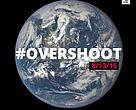 Earth Overshoot Day falls on 13 August this year.