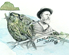 Richard Henry, New Zealand conservation pioneer, illustrated by Candice Powell.